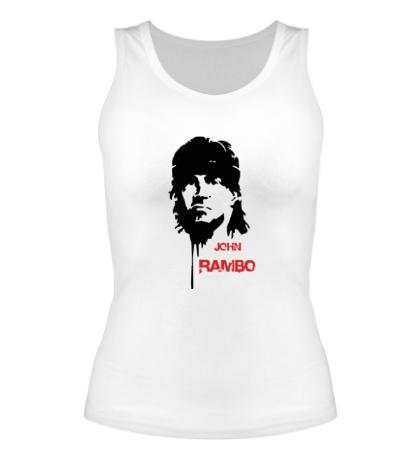 Женская майка John Rambo