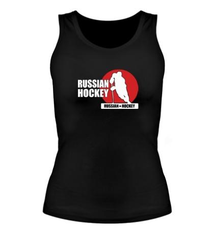 Женская майка Russian Red Hockey