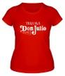 Женская футболка «Tequila don julio» - Фото 1