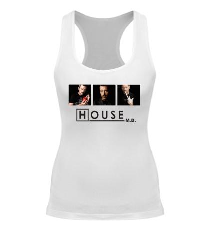 Женская борцовка House MD: Poster