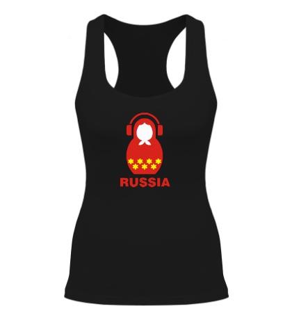 Женская борцовка Russia dj