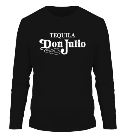 Мужской лонгслив «Tequila don julio»