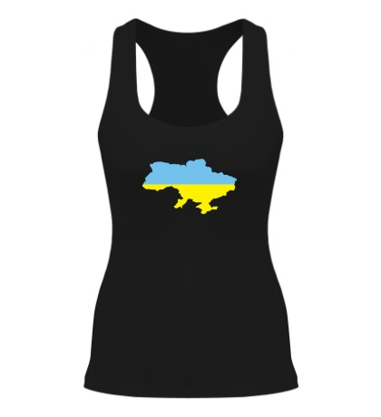 Женская борцовка Карта Украины
