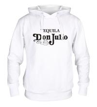 Толстовка с капюшоном Tequila don julio