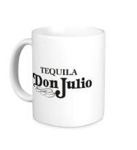 Керамическая кружка Tequila don julio