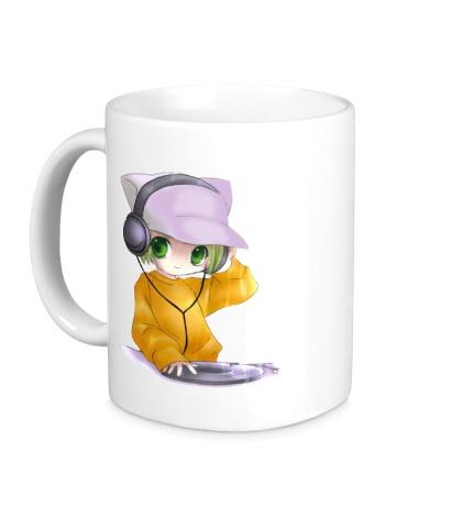 Керамическая кружка DJ Anime