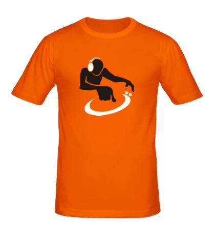 Мужская футболка За пультом
