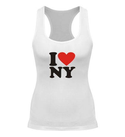 Женская борцовка I love NY