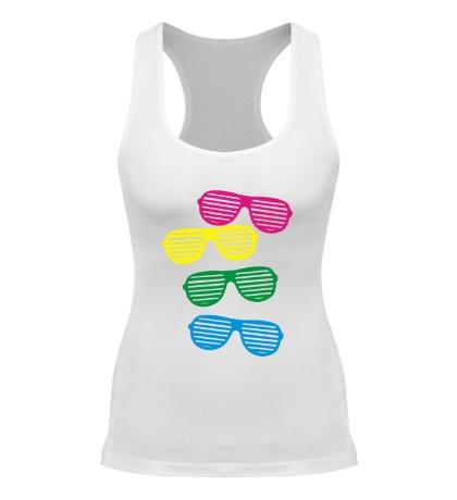 Женская борцовка Разноцветные очки