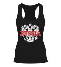 Женская борцовка Герб Russia
