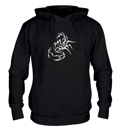 Толстовка с капюшоном Скорпион: символ