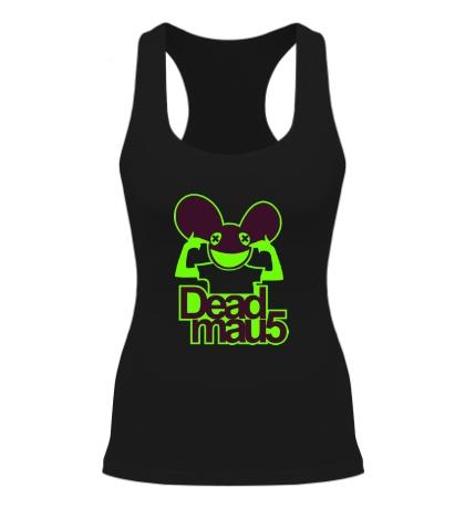 Женская борцовка Deadmau5 Glow