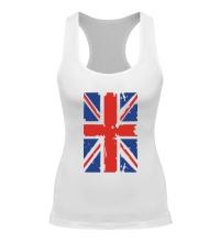 Женская борцовка Британский флаг