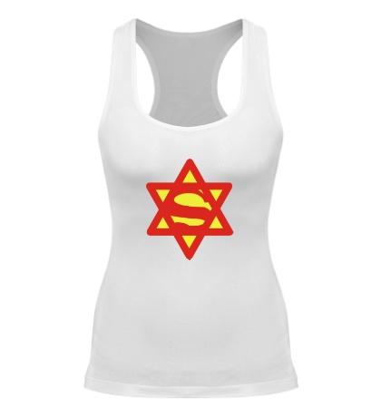 Женская борцовка Супер Еврей