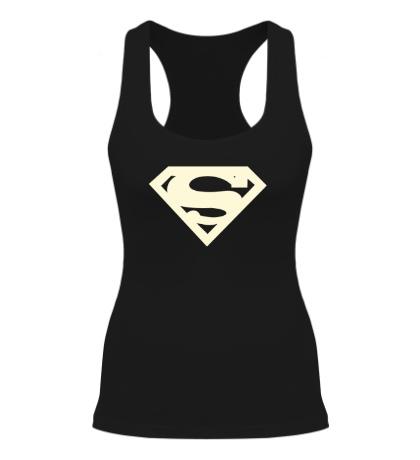 Женская борцовка Супермен, свет