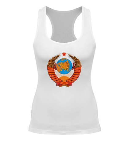 Женская борцовка Звездный герб СССР