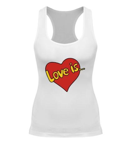 Женская борцовка Love is