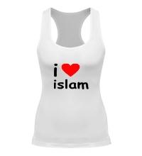 Женская борцовка I love islam