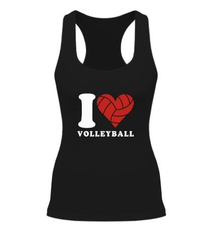 Женская борцовка I Love Volleyball