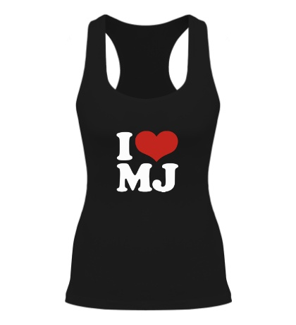 Женская борцовка I Love MJ