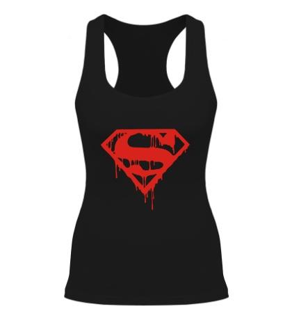 Женская борцовка Кровавый супермен