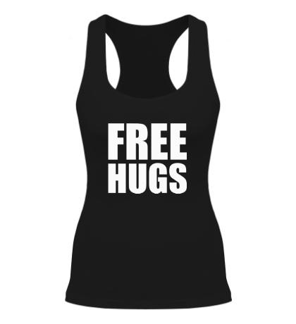 Женская борцовка Free hugs