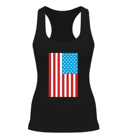 Женская борцовка Американский флаг