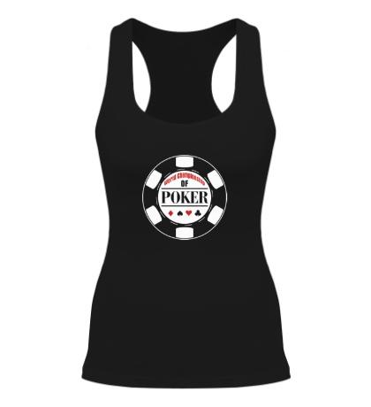 Женская борцовка World Championship of Poker