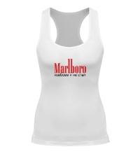 Женская борцовка Marlboro, ковбоем я не стал