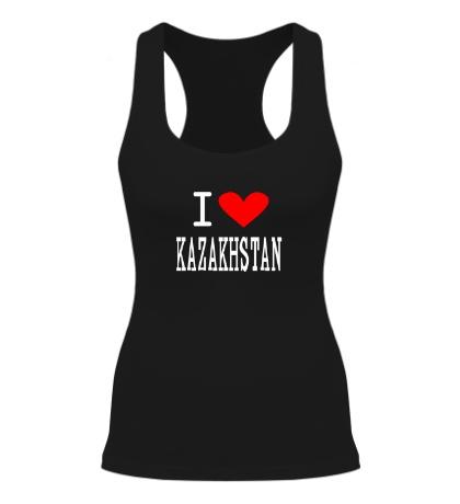 Женская борцовка I love Kazakhstan