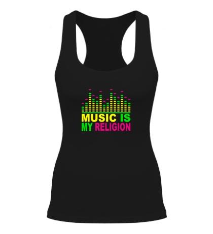Женская борцовка Music is my religion