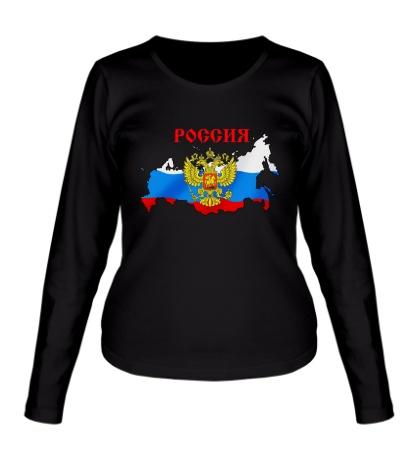 Женский лонгслив Российская Империя