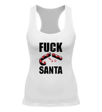 Женская борцовка Fuck Santa