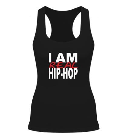 Женская борцовка I am real hip-hop