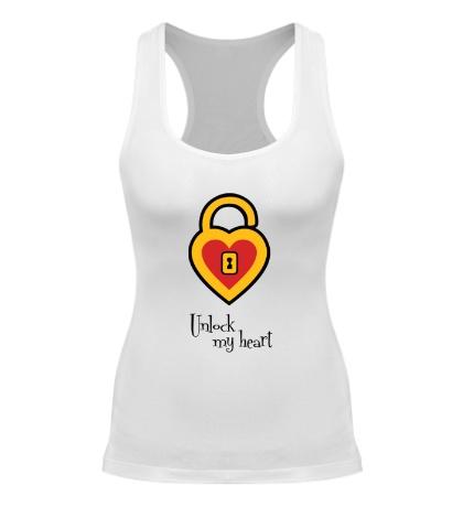Женская борцовка Ключ от сердца