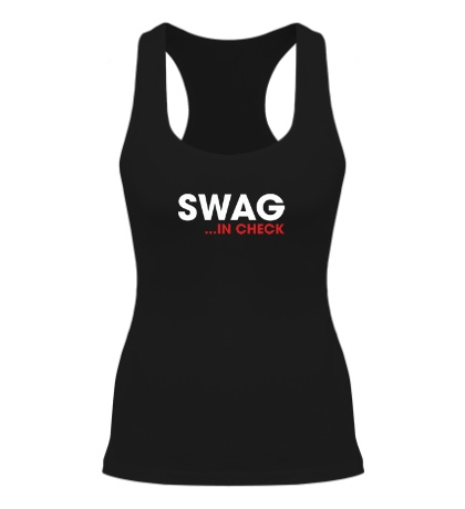 Женская борцовка Swag in Check