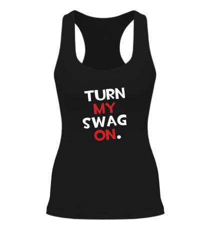 Женская борцовка Turn my Swag on