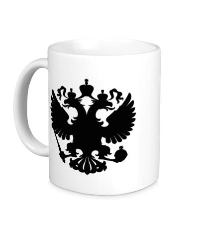 Керамическая кружка Герб РФ