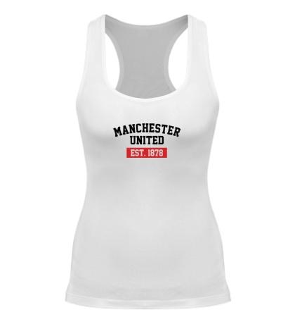 Женская борцовка FC Manchester United Est. 1878