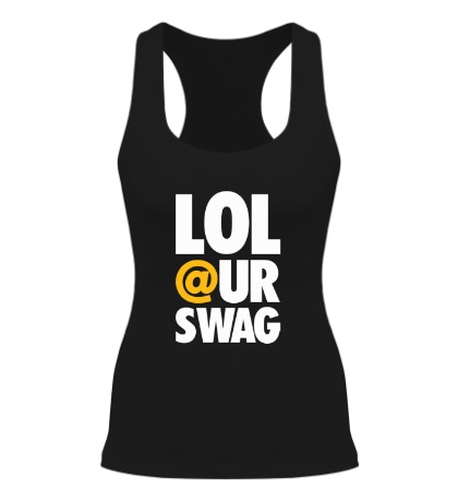 Женская борцовка Lol our Swag