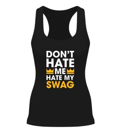 Женская борцовка Hate my Swag