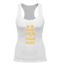 Женская борцовка Keep calm and train hard