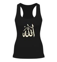 Женская борцовка Аллах, свет