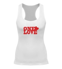 Женская борцовка One love