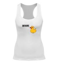 Женская борцовка Утка говорит QUACK