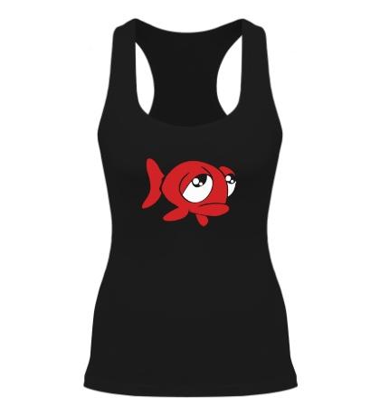 Женская борцовка Грустная рыба