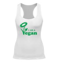 Женская борцовка I am a vegan