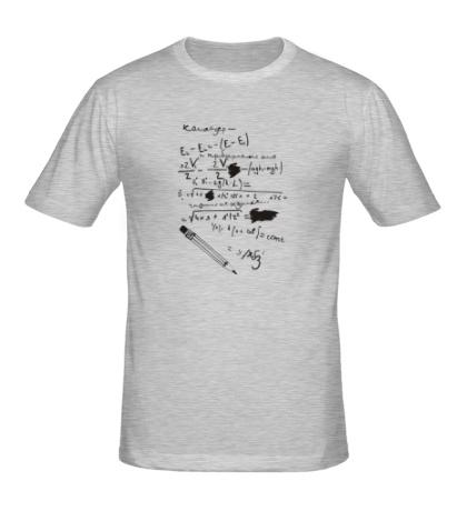 Мужская футболка Формулы