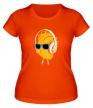 Женская футболка «Сердце в наушниках светится» - Фото 1