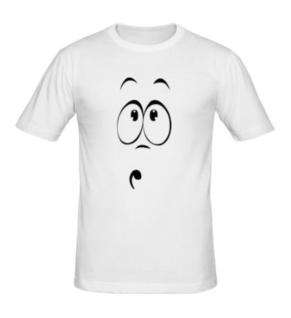 Мужская футболка Сильно удивлен